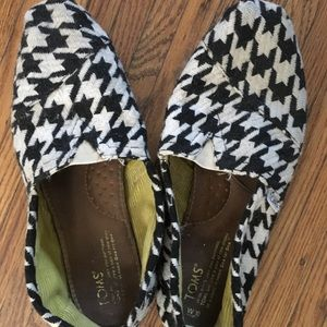 Toms- Houndstooth print